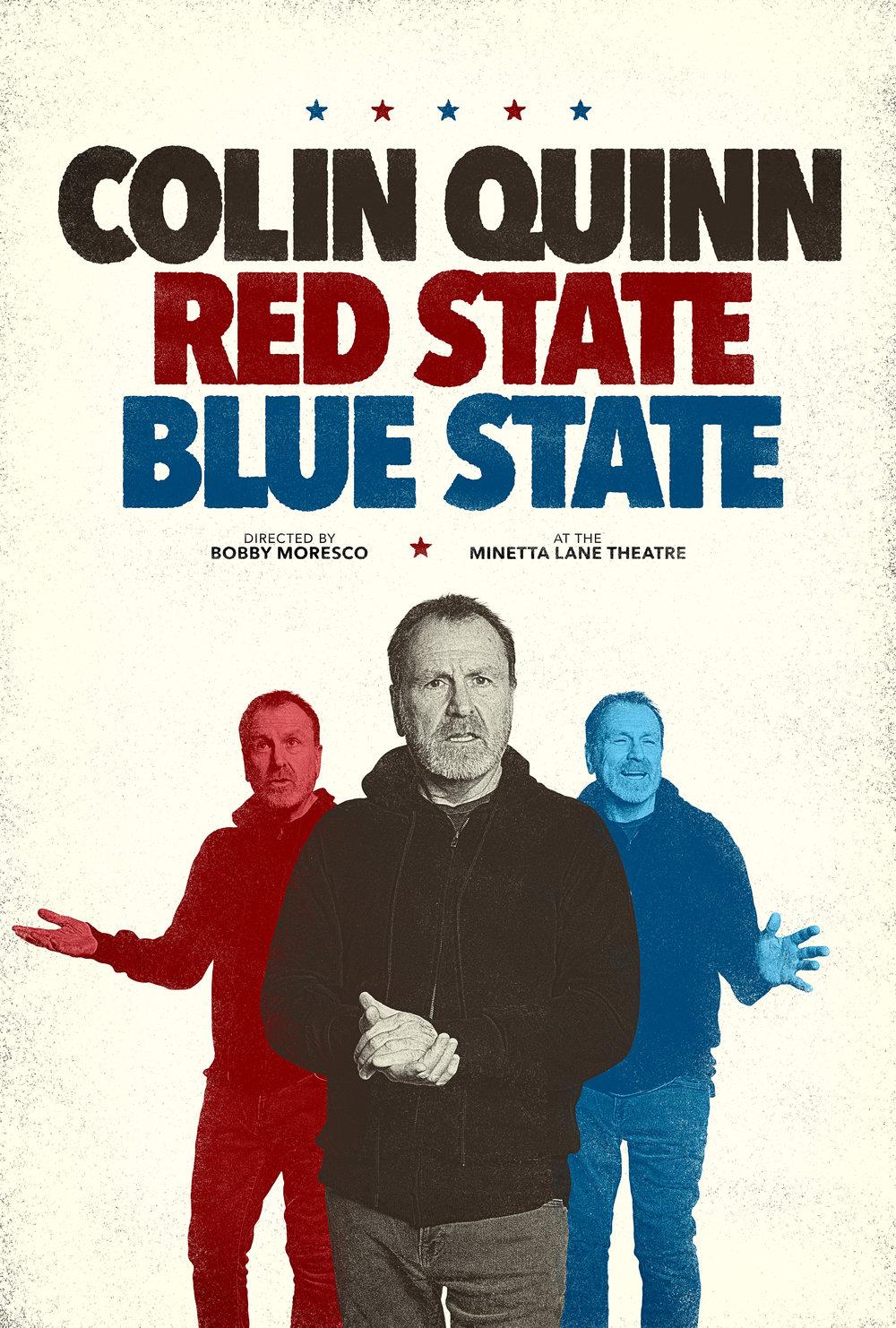 @colinquinnshow #RedStateBlueState