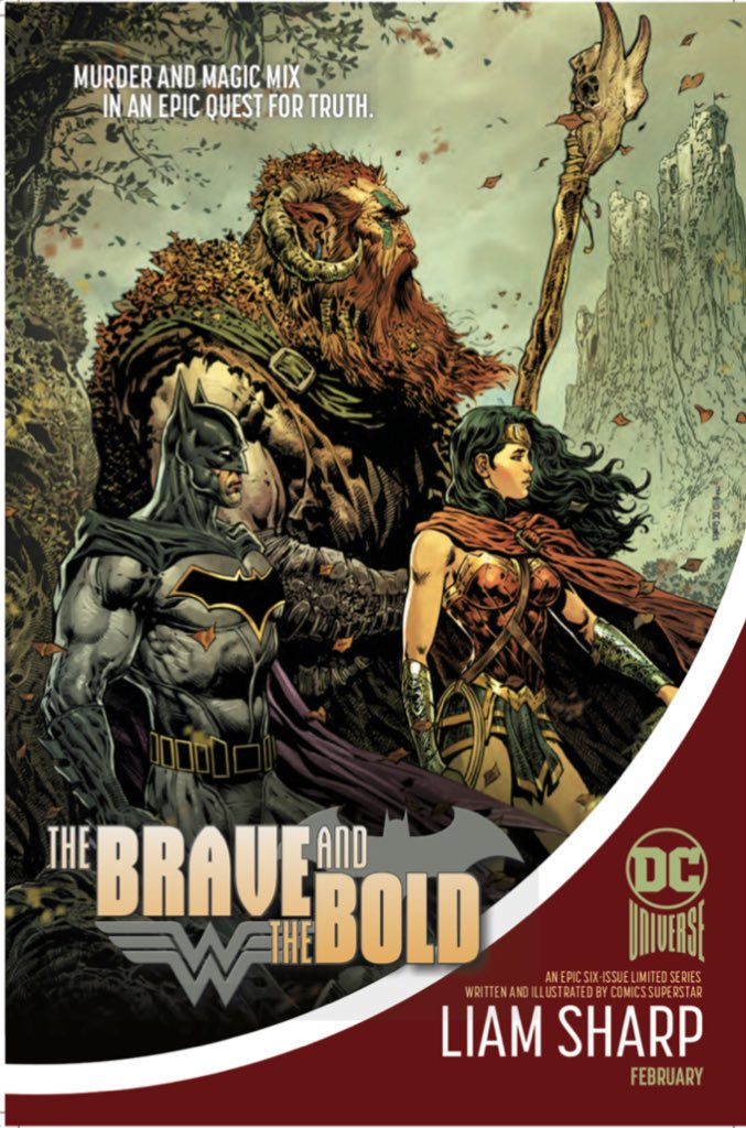 In-house ad for The Brave and The Bold -