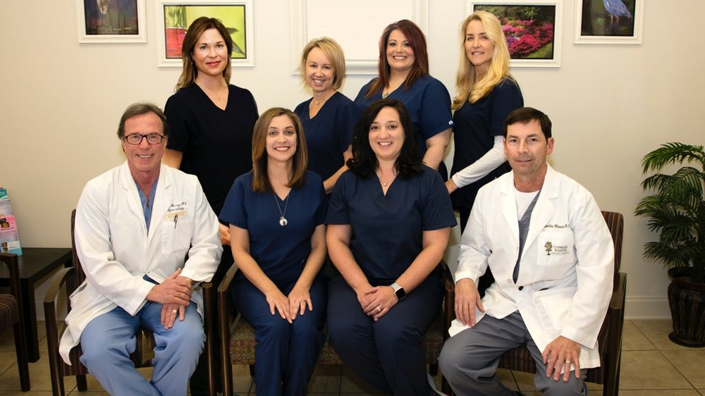Dr. Mooney, Dr. Berry, and the whole team. Proud to serve you!