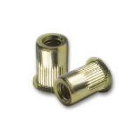 Thin wall rivet nuts