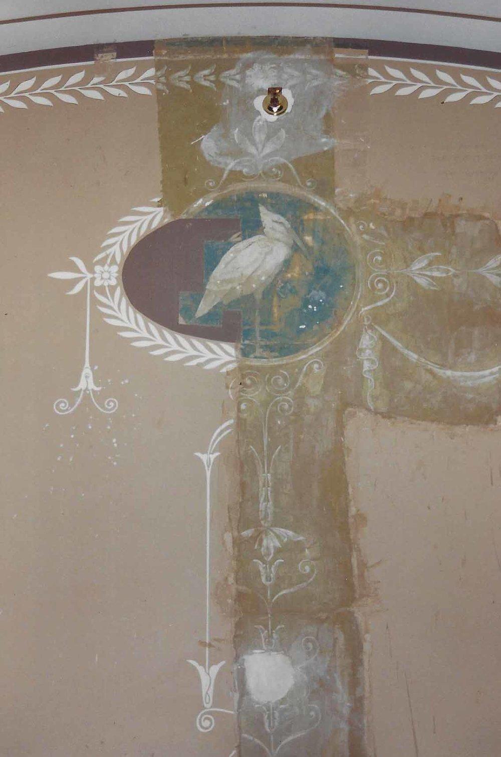 Exposure of original paint