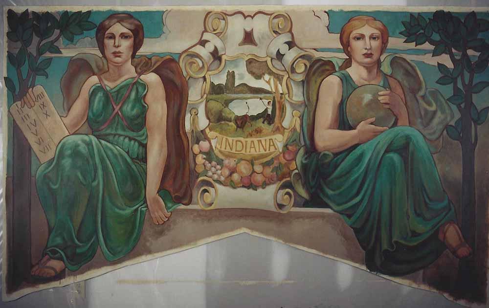 Birch Bayh Federal Courthouse, Judge Sara Evans Barker Courtroom