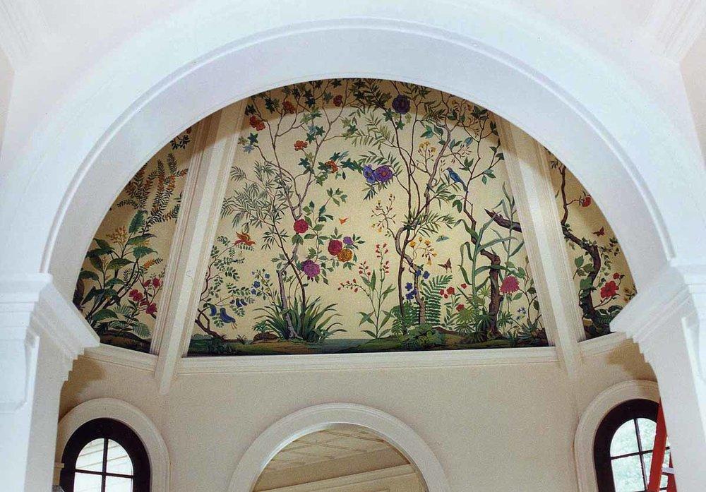 Atrium Mural, private residence