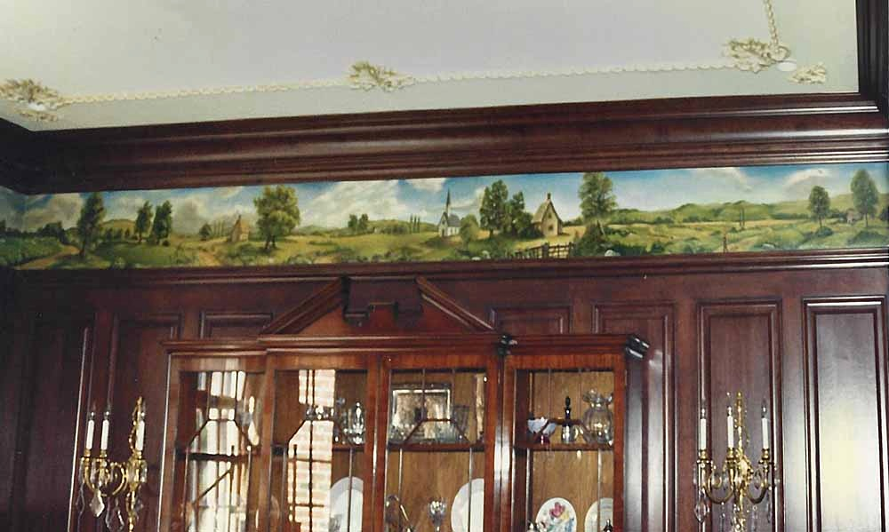 Dining Room Frieze, private residence