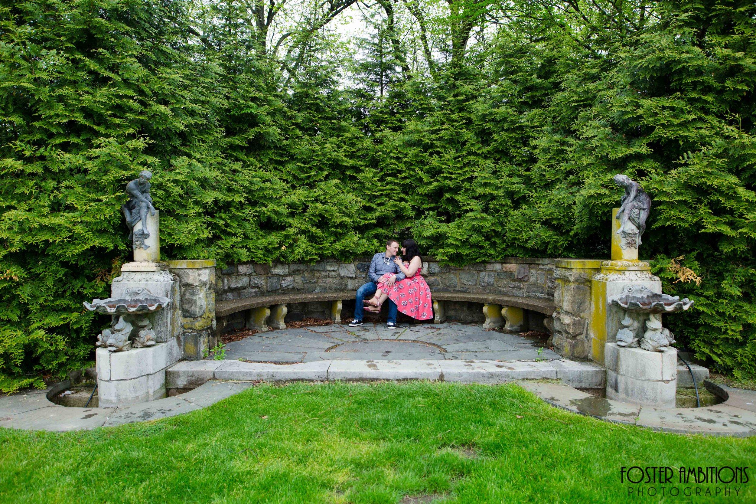 NJ Botanical Gardens Engagement - Scarlett ...