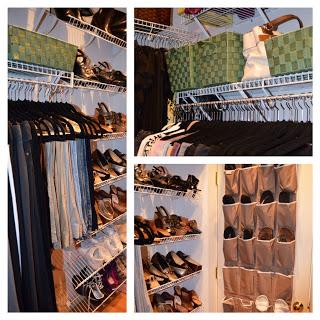 creating organized closet