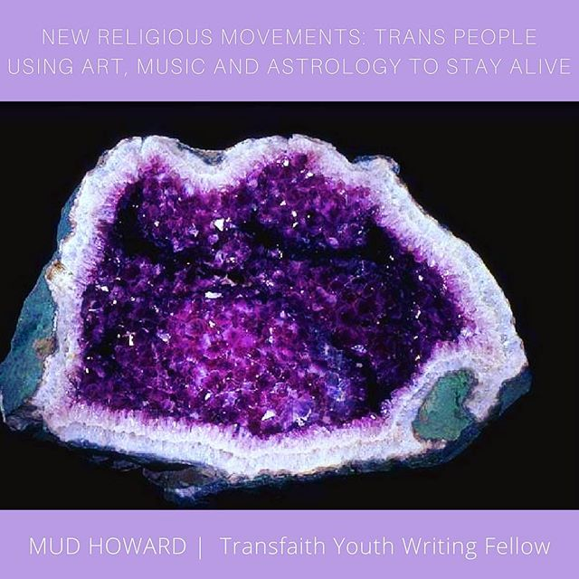 New on Transfaith's HuffPost channel: Youth Fellow Mud Howard explores emerging #trans religious movements! Link in bio. #trans #transgender #genderqueer #crystals #astrology #crystalhealing #astrologersofinstagram #astrologyposts #huffpostgram
