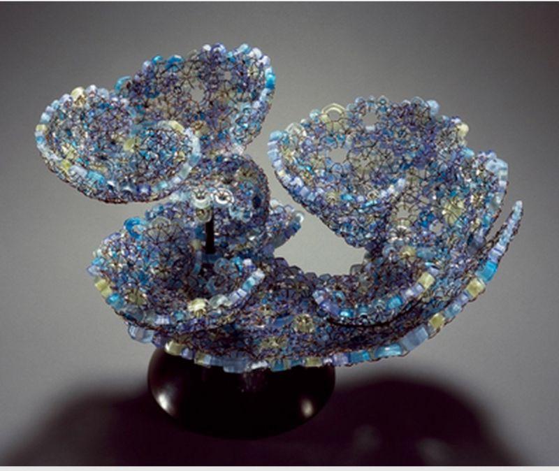 """""""Turbanaria"""" blown glass and copper 15 1/2"""" x 16"""" x 12 1/2"""" $10,000"""
