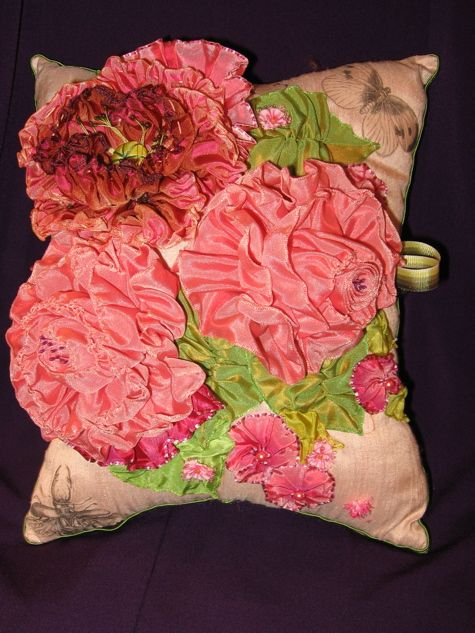 """Sachet"" vintage french ribbon, silks, french lavender, various sizes"