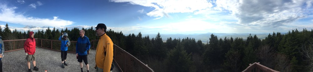 Top of the world at Spruce Knob