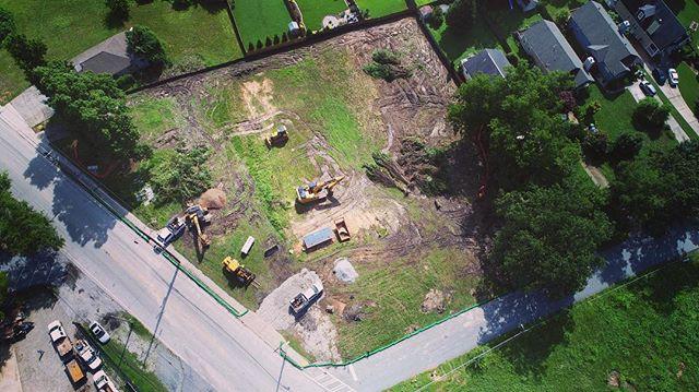 Kicking off a new job today! Hoping to make short work of it. #SiteDevelopment #DirtMovers #EarthMovers #HollywoodAndMain #WeBuildGeorgia #Construction