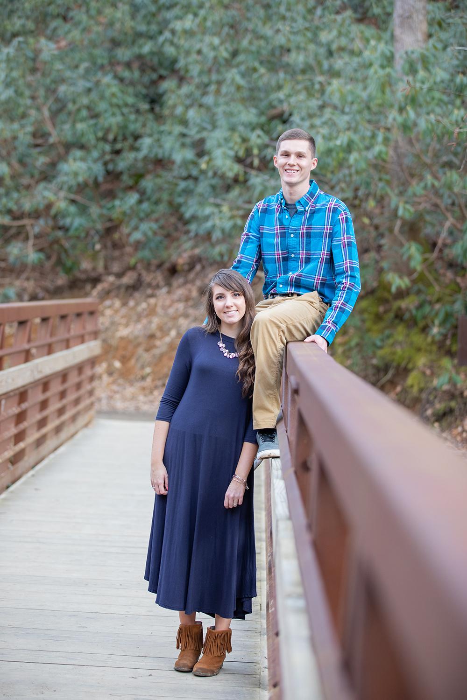 Catawba Falls engagement