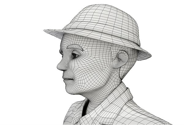 角色以3D製作,再以渲染技術模擬手繪的質感.