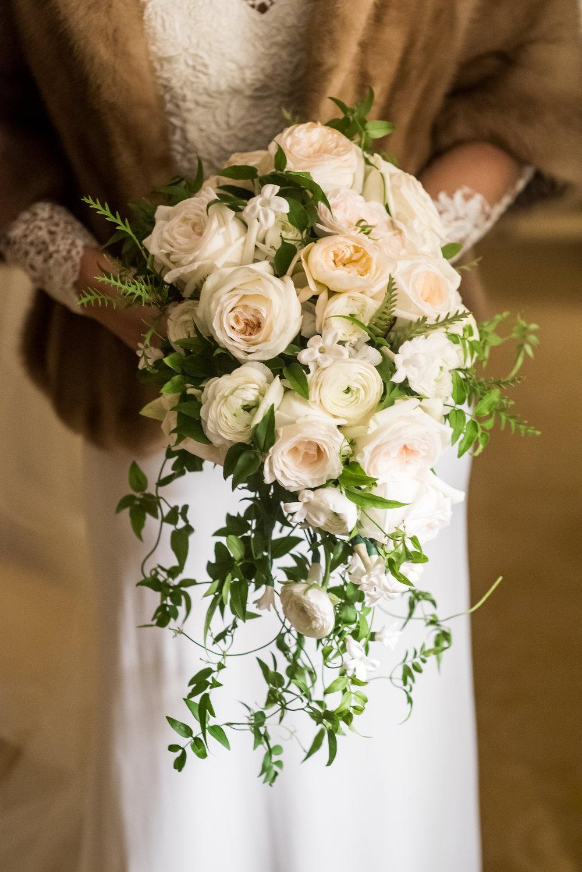 Devin-Dan-Winter-Wedding-Boston- Wedding-Destination-Wedding-Wedding-Planner-Nicole-Simeral-Brides-Bouquet-Garden-Roses-Jasmine-Stephanotis