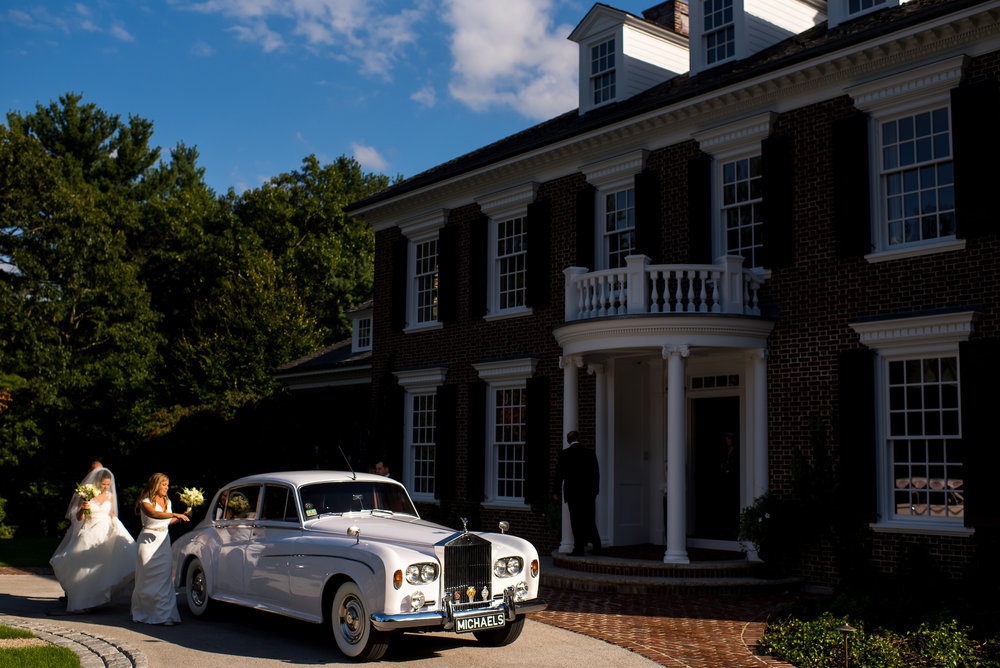 KATY-AND-TOM-HINGHAM-MASSACHUSETTS-WEDDING-DESTINATION-LUXURY-WEDDING-CATHOLIC-CHURCH-BACK-YARD-SPERRY-SAIL-CLOTH-TENT-COASTAL-CHIC-TIMELESS-ROMANTIC-ROLLS-ROYCE-VINTAGE-CAR