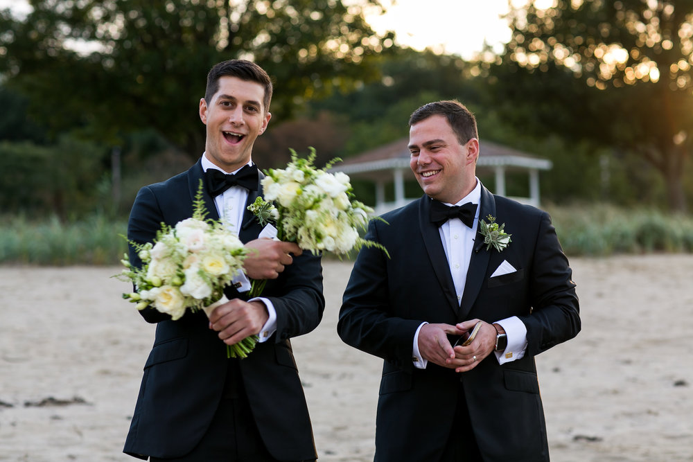 KATY-AND-TOM-HINGHAM-MASSACHUSETTS-WEDDING-DESTINATION-LUXURY-WEDDING-CATHOLIC-CHURCH-BACK-YARD-SPERRY-SAIL-CLOTH-TENT-COASTAL-CHIC-TIMELESS-ROMANTIC-GROOMSMEN-BEST-MAN-BOUQUET