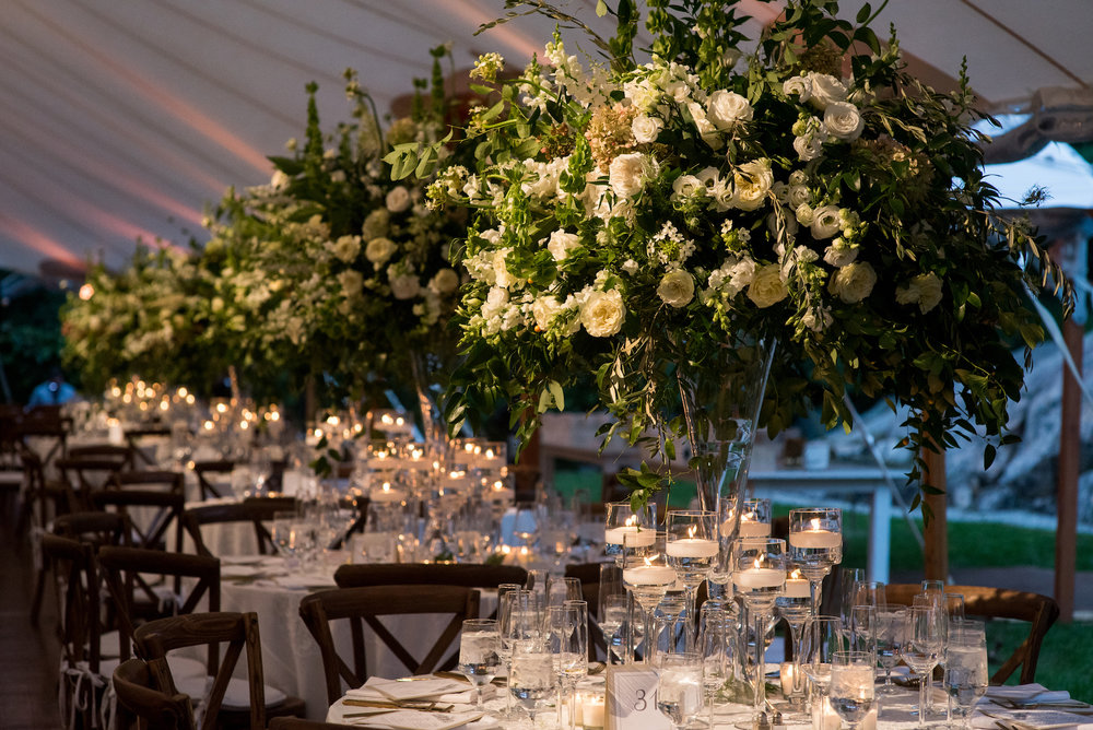 KATY-AND-TOM-HINGHAM-MASSACHUSETTS-WEDDING-DESTINATION-LUXURY-WEDDING-CATHOLIC-CHURCH-BACK-YARD-SPERRY-SAIL-CLOTH-TENT-COASTAL-CHIC-TIMELESS-ROMANTIC-FARM-TABLES-CHANDELIERS-CENTERPIECES