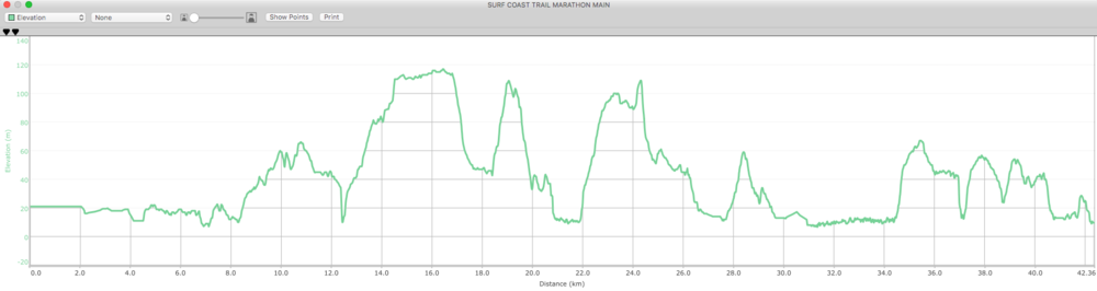 It's not the elevation you have to worry about at #SCTM … it's the king tide. How's your freestyle?