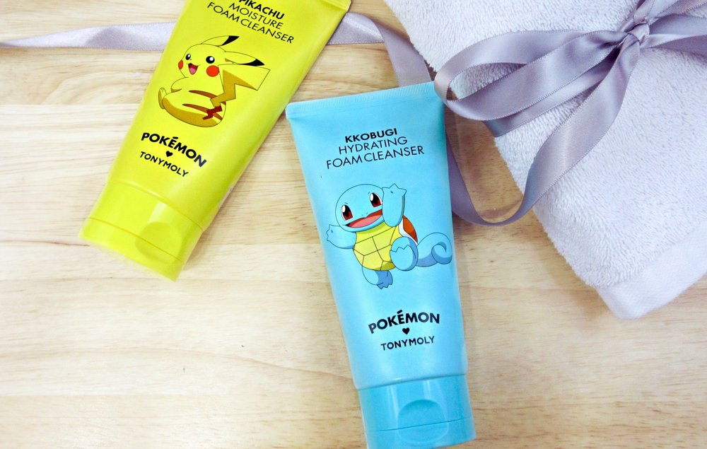 Review| Tony Moly Pokemon Cleansers