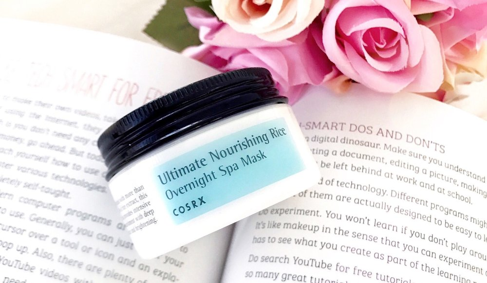 Review Cosrx Ultimate Nourishing Rice Overnight Spa Mask