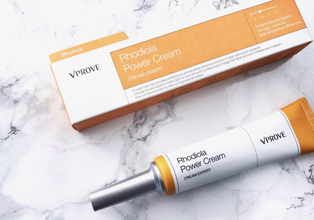 Review VProve Rhodiola Power Cream