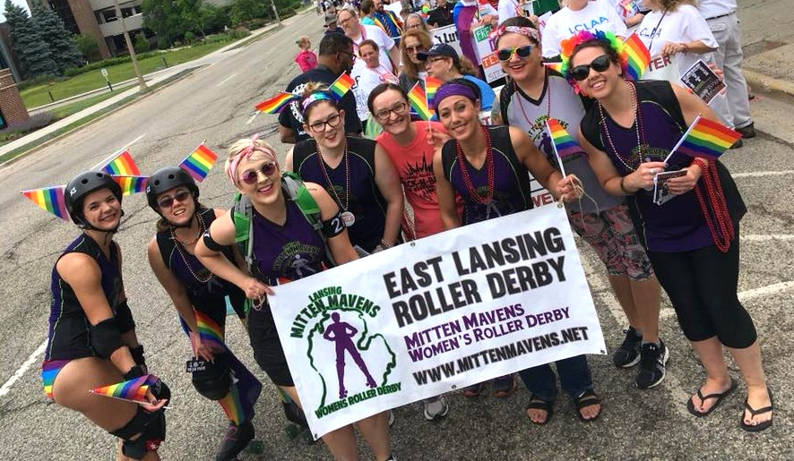 """Join the elrd family - Ready to take the next step? You can get involved as a skater, on or off skates official, or volunteer today! It's as simple as saying, """"I want to be a part of ELRD!"""""""