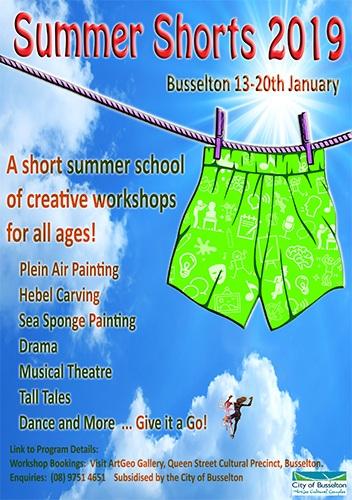 Busselton's Summer Shorts summer school