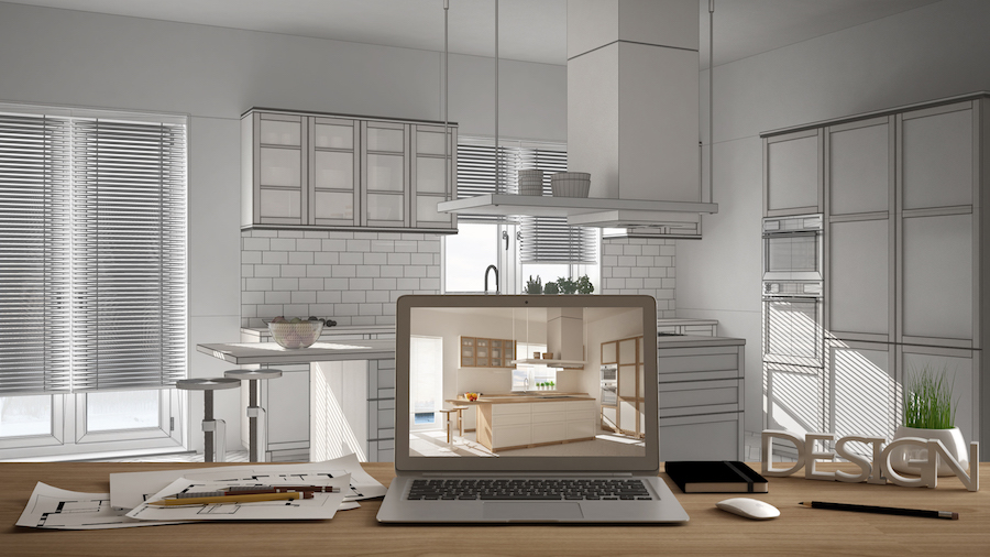 Link to image:  https://www.istockphoto.com/gb/photo/architect-designer-desktop-concept-laptop-on-wooden-work-desk-with-screen-showing-gm1026572738-275286831