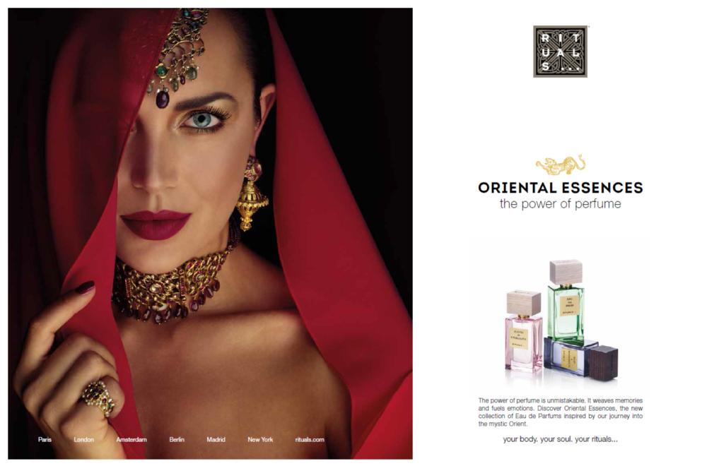 ad campaign Oriental Essences