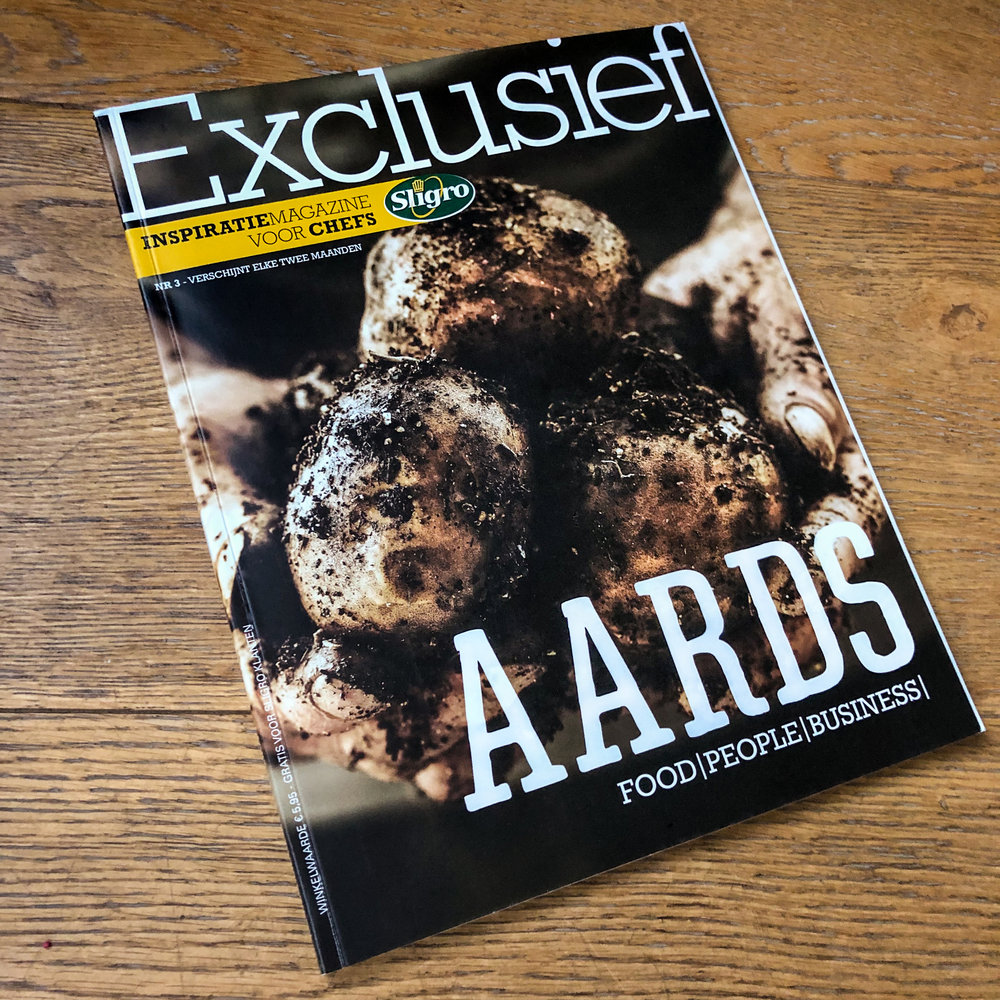new magazine for chefs