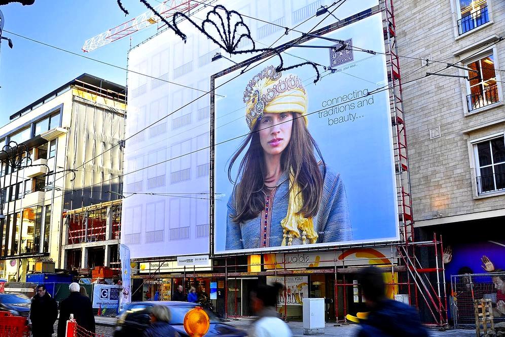 international billboard campaign