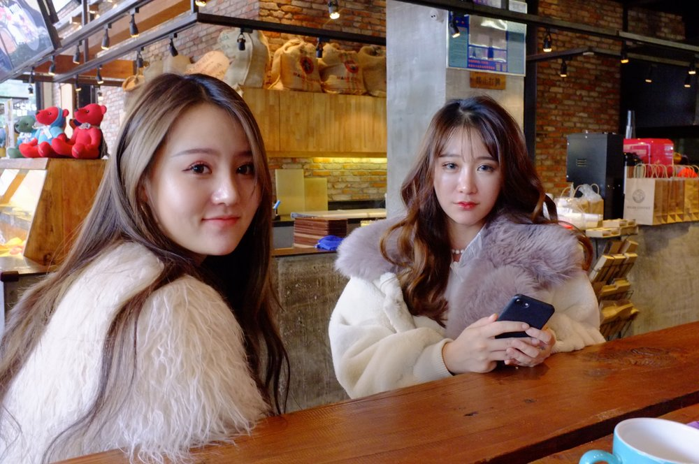 street wise millennials in Wuhan