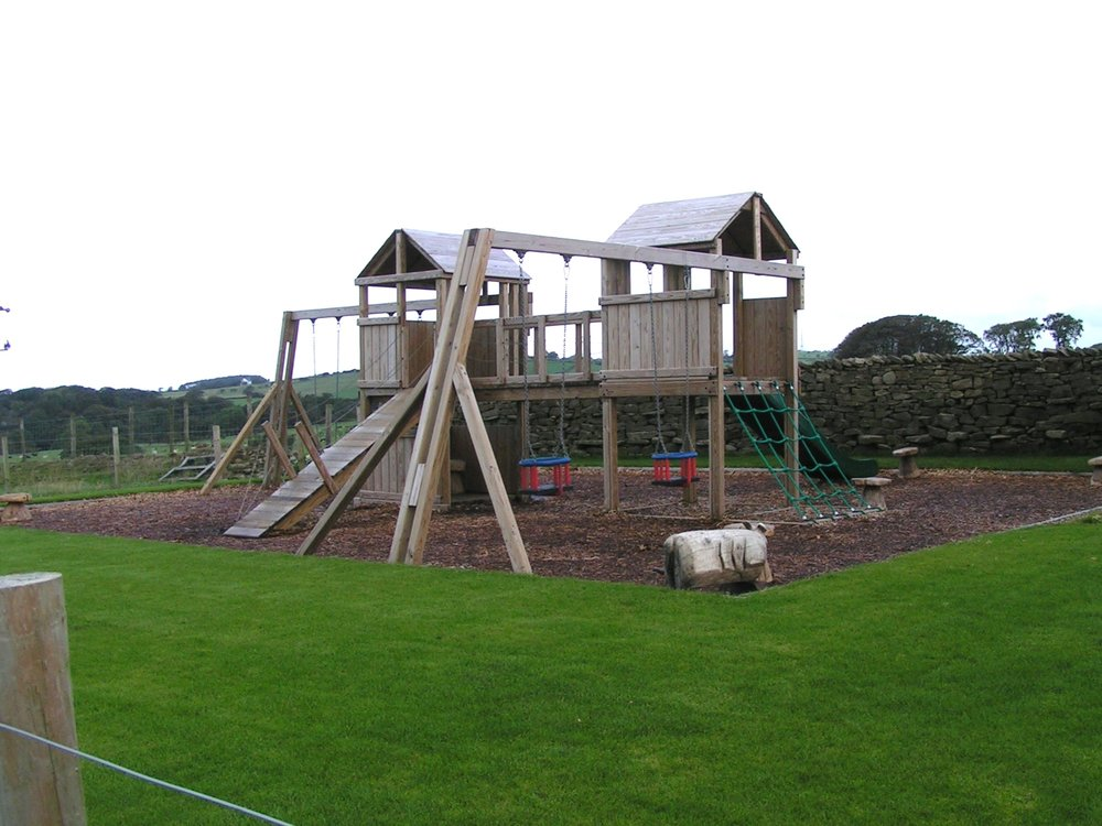 PLAY AREAS - Indoor and outdoor play areas perfect for sunny and rainy days.