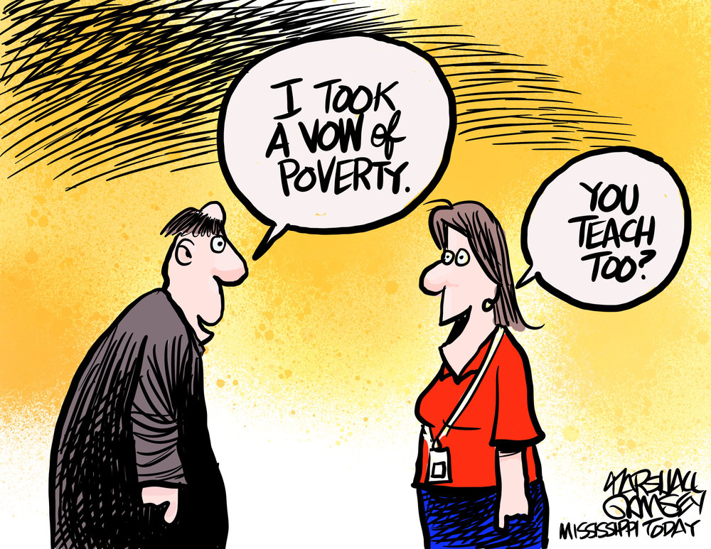 Vow of Poverty by Marshall Ramsey