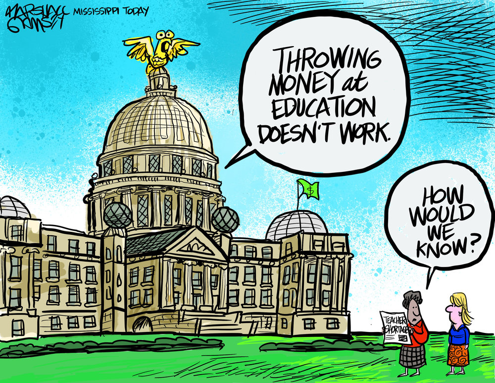 Education's Lack of Funding by Marshall Ramsey
