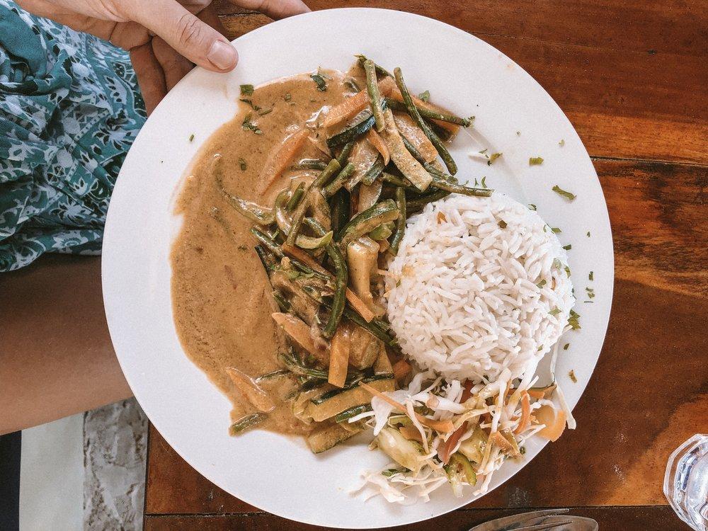 Typisch Zanzibar: Curry mit Kokosnussmilch