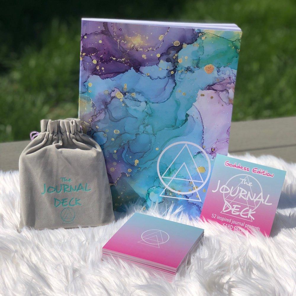 Goddess Deck + Journal Bundle - $45