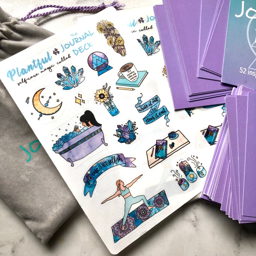 "NEW ""Self Care Magic"" Stickers - Adorn your planners and journals!"