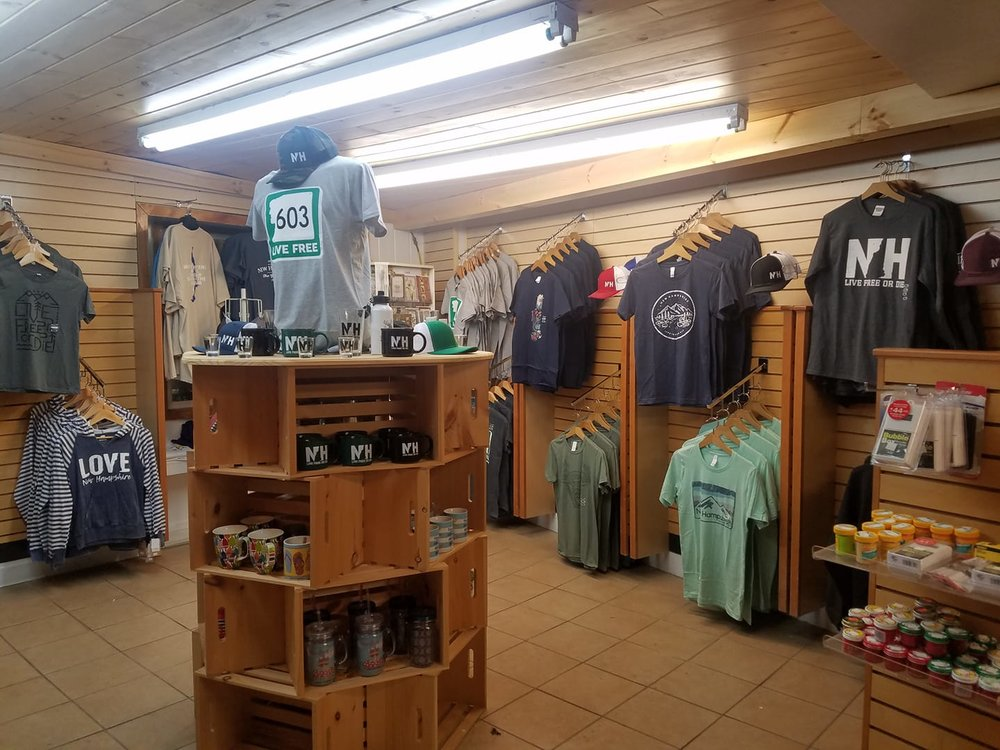 Come Check out our Gift shop! - We have t-shirts, hats, mugs, and all kinds of knick knacks