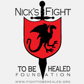 Nick's Fight to be Healed logo