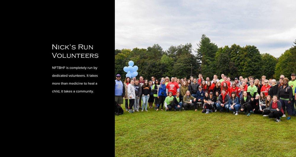 Copy of Nick's Run Volunteers