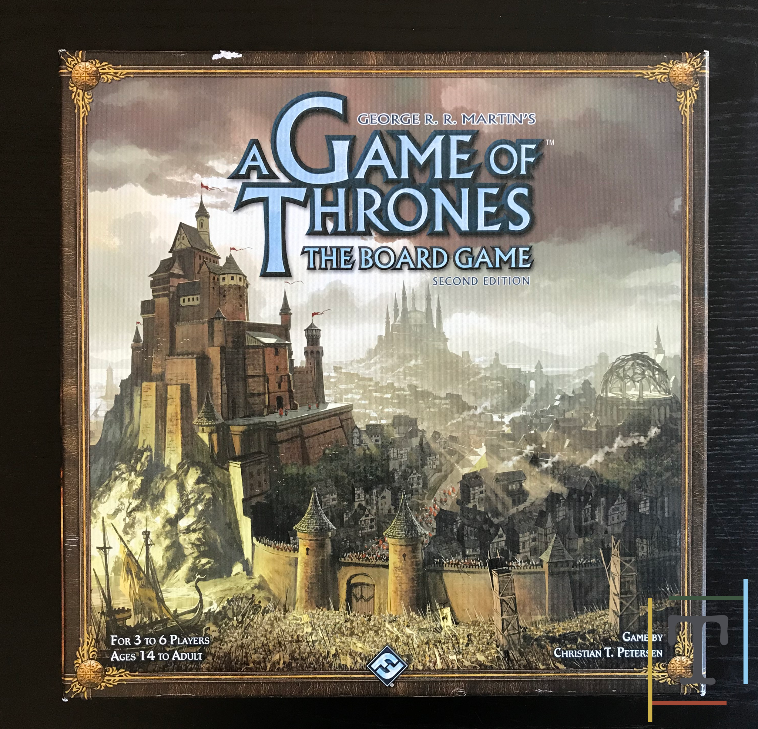 The Tabletop Times] Review: A Game of Thrones (Second