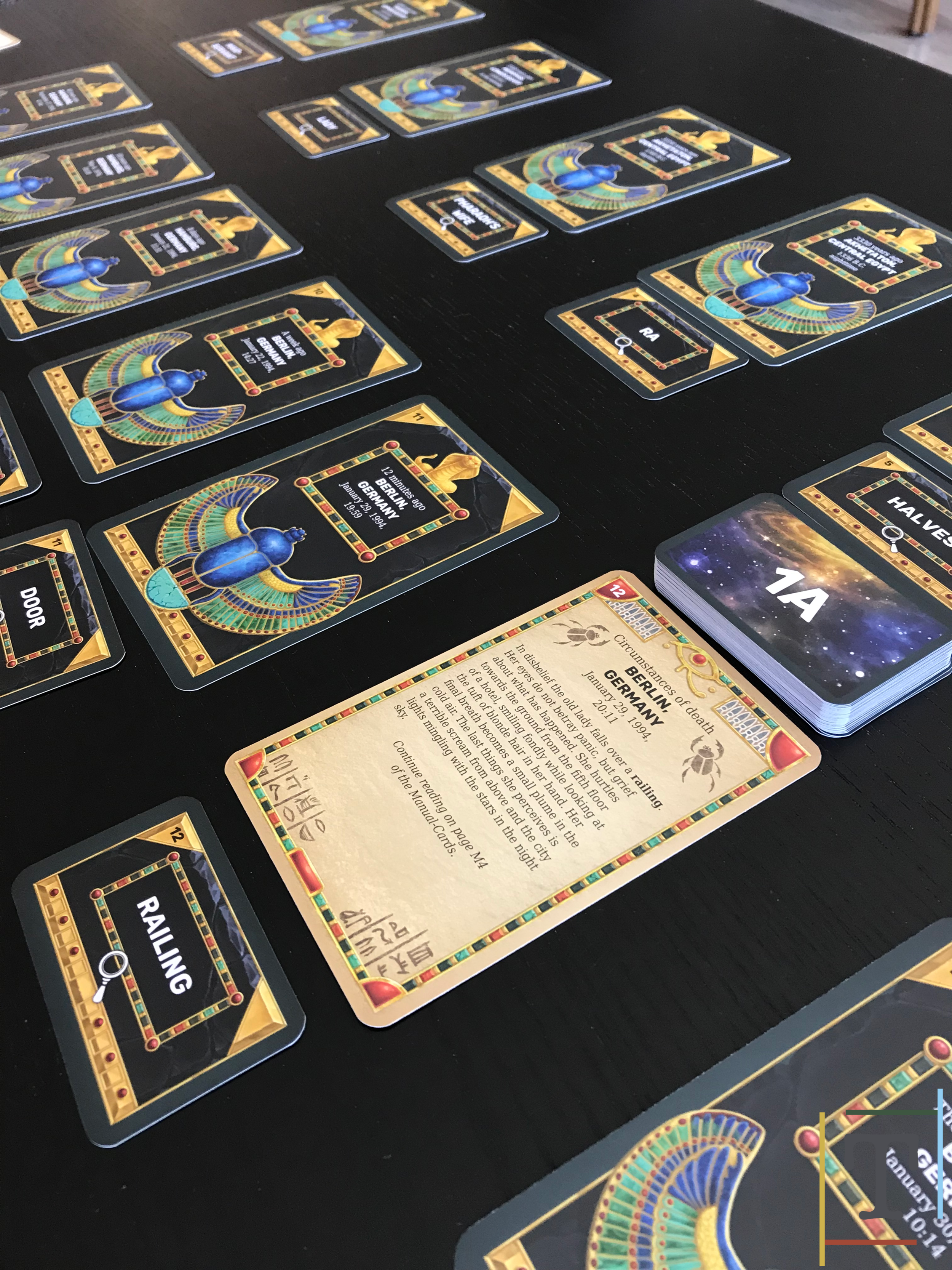 Review - Undo: Curse from the Past — The Tabletop Times