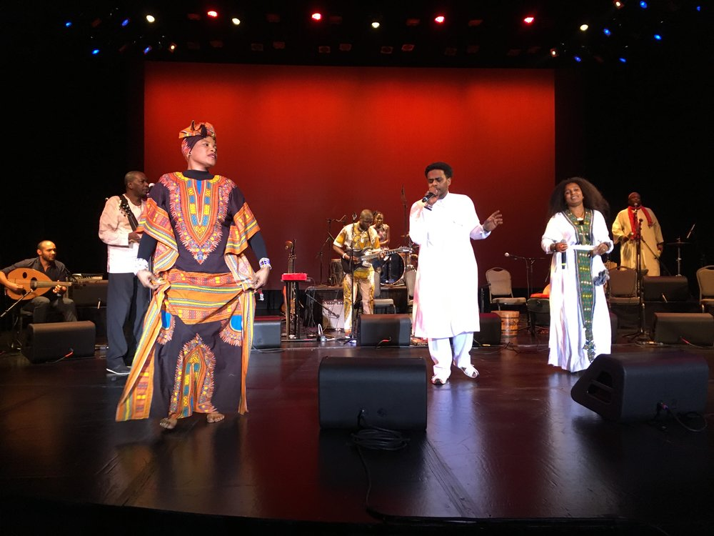 The Nile Project performs