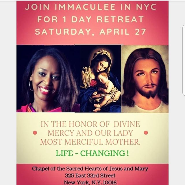 You can meet Immaculée in person in nyc this weekend! Her retreats can be transformational. And if you haven't seen our show yet, what could be more powerful than praying with Immaculée on Saturday morning, then seeing her story performed that night! For tickets to her retreat, go to @ilibagizaimmaculee and for tickets to our show, the link is in our bio! 📸 Walter McBride  April 4th - May 11th, 2019 at The Lion Theatre on Theater Row Telecharge at 212-239-6200 or ⬆️⬆️ link above