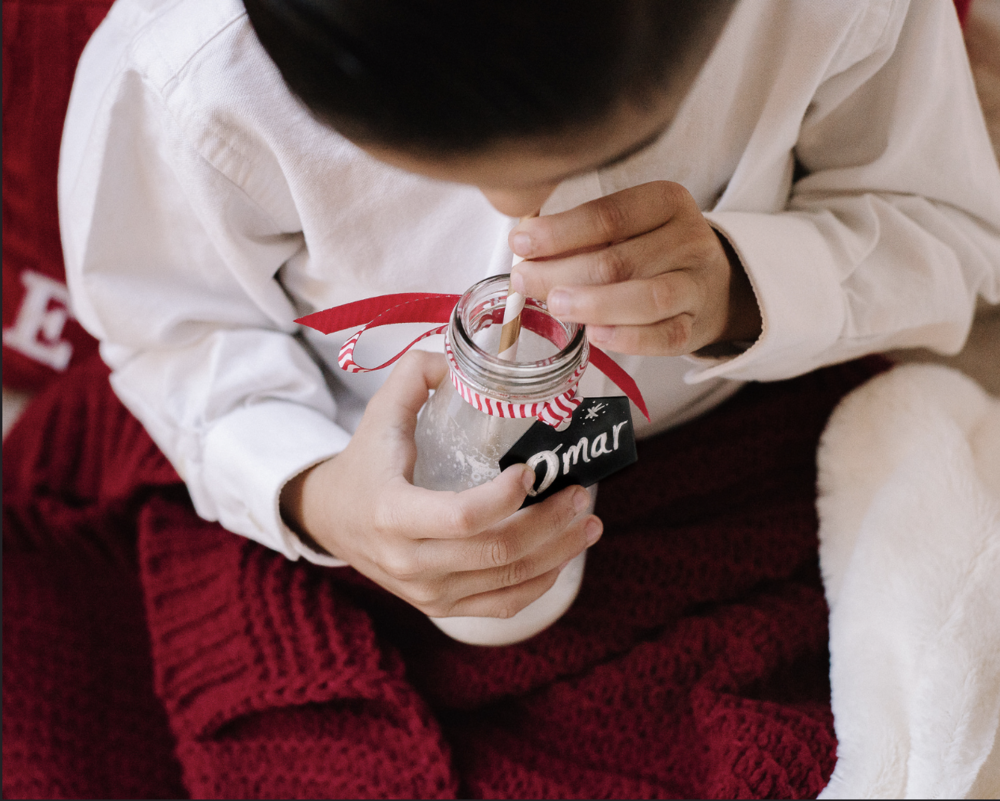 Jayla & Omar's Cozy Christmas Session | Hello Daydreamer Photography | Dallas Child Photographer