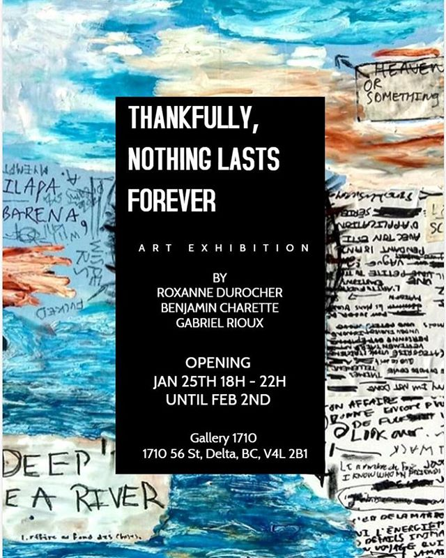 Our next show is coming up with @benjamincanopyart @peace.finger @c.ott.on newest series!  Join us on the 25th of January 2019 for some good vibes, music and art.  #montrealartists #vancouverartist #show #abstractart #artgallery #alwayshigh #fun #vancouver #artist #tsawwassen #bc #fineart #height #ropes #arborist #420 #exhibition #cantwait #spraypaintart #canvaspainting #wood #woodworking #modernart #supportartists #colors #mtn #waterbased #acrylic