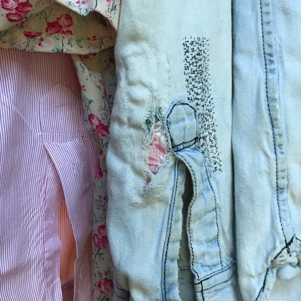 Mending - Extend the life of your favorite clothes or give new life to an old garment through mending and repair.