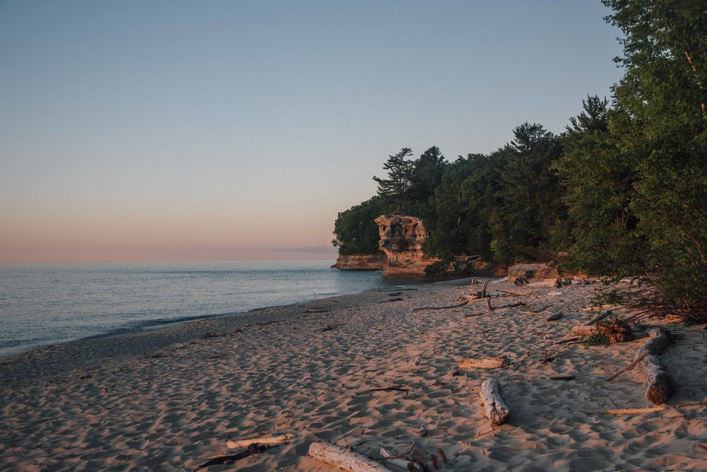 Pictured Rocks, MI, USA