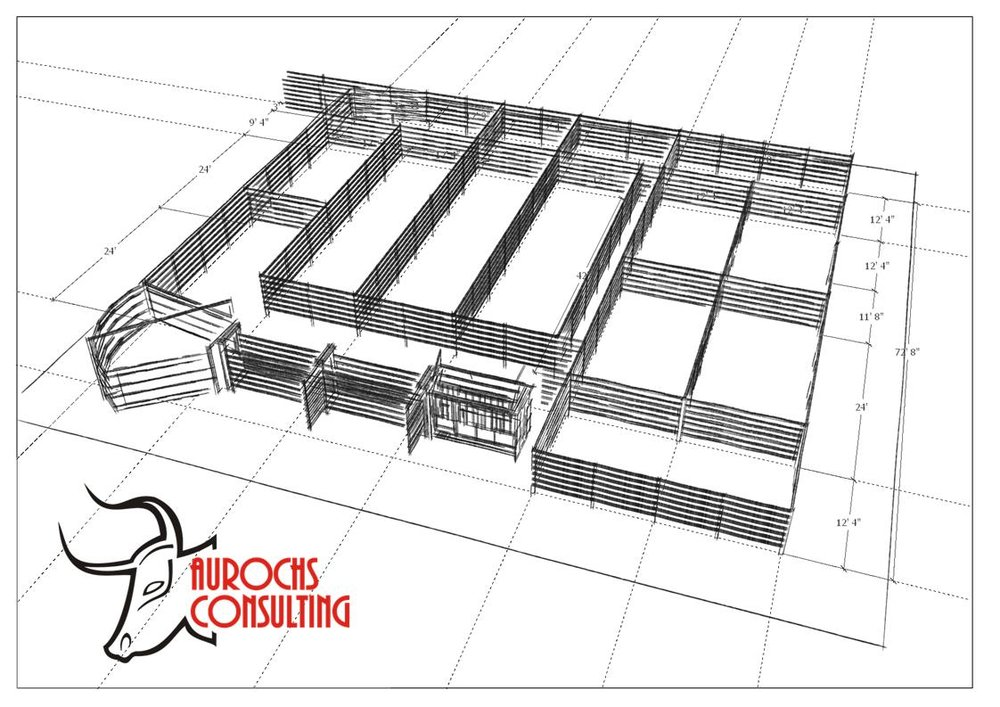 3D model of a corral
